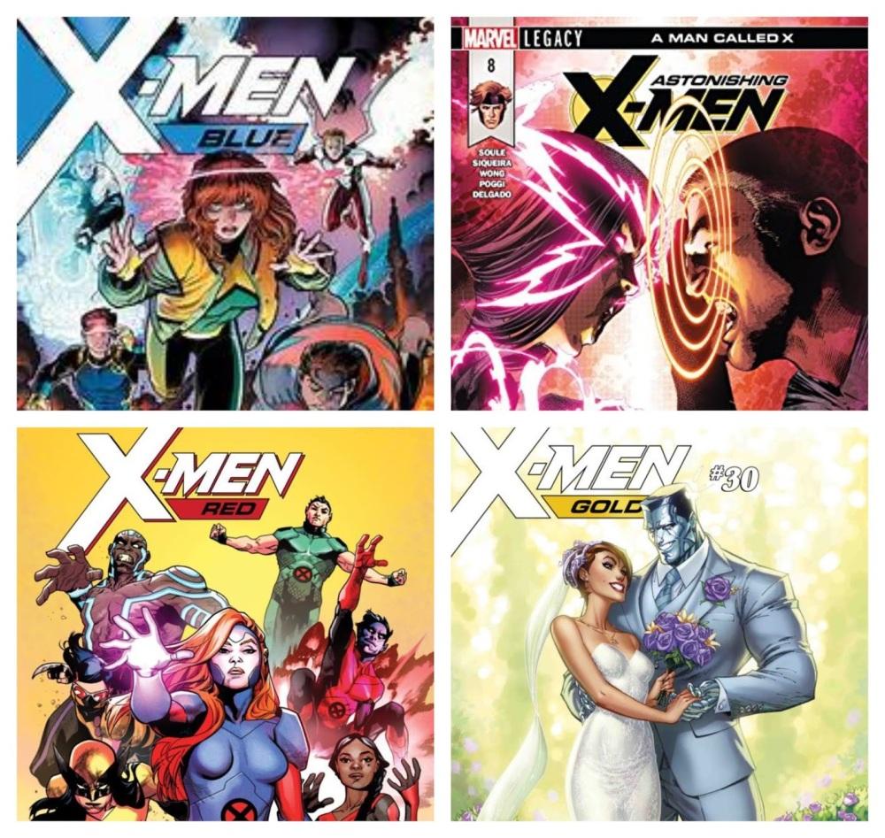 colored xmen
